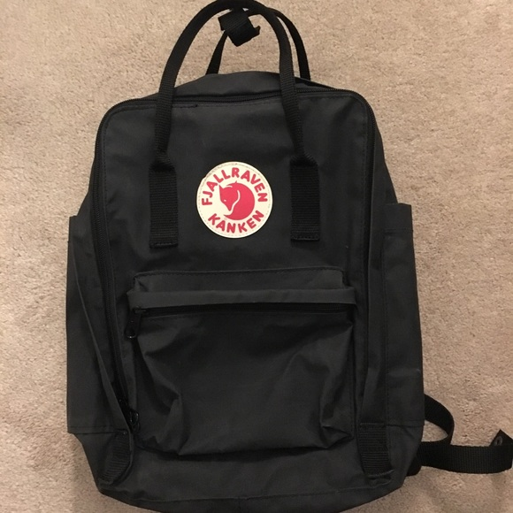 ddfc48178 Fjallraven Handbags - Fjallraven Kanken Black 13 inch laptop backpack